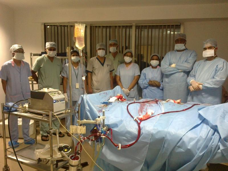 Dr Avinash Dal and critical care team Apollo Hyderabad.