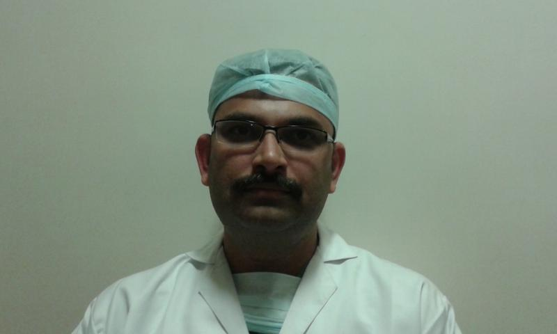 Mr J M Ibrahim, Clinical Perfusionist at Dr Avinash Dal unit, Apollo Hospital